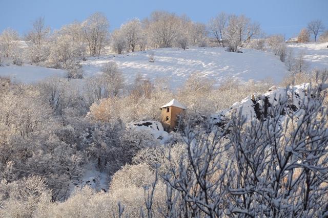 Le Freney d'Oisans en hiver